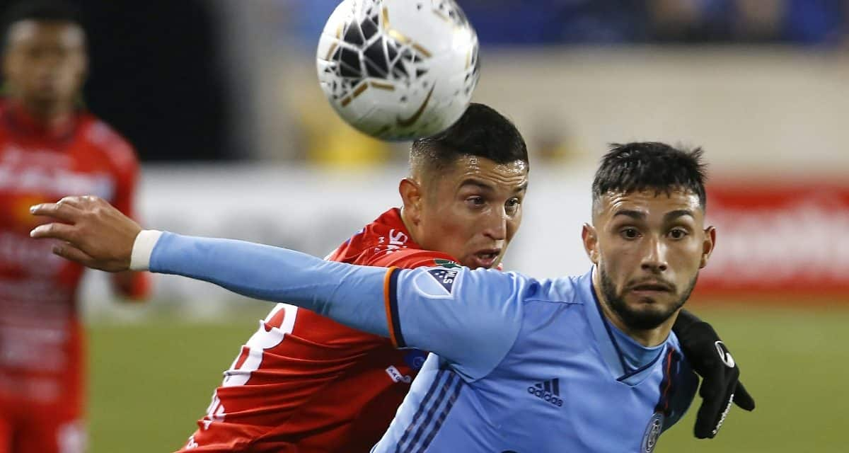 IT'S CERTAINLY NO FIELD DAY: NYCFC's next round stadium uncertain, although it could RBA again