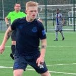 IN HIS UNCLE'S FOOTSTEPS: Mason Moyers, 19, making a name for himself at Everton