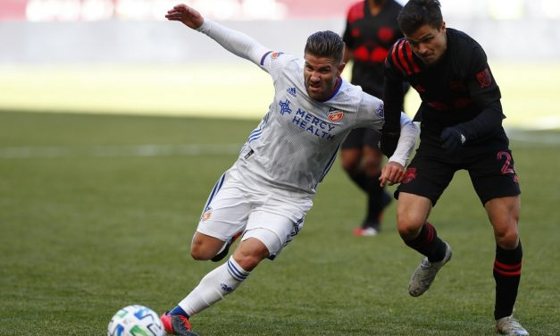 THE COMEBACK KID: In his 1st game back from ACL injury, Valot plays a big role in Red Bulls' win