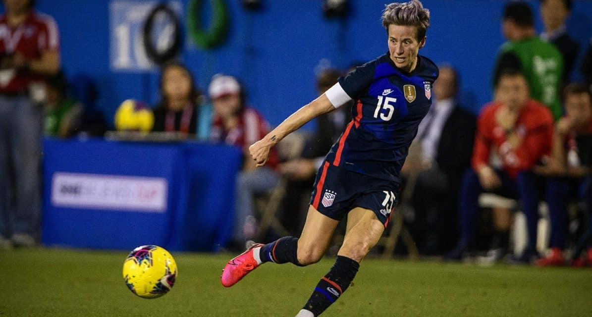 """CRITICAL COMMENTS ON U.S. SOCCER COMMENTS: Rapinoe: 'blatant misogyny and sexism;' Cone: """"hurt and saddened;"""" Garber: 'shocked and angry'"""