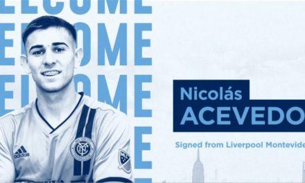 SOME MIDFIELD DEPTH: NYCFC obtains Uruguayan Acevedo on a transfer