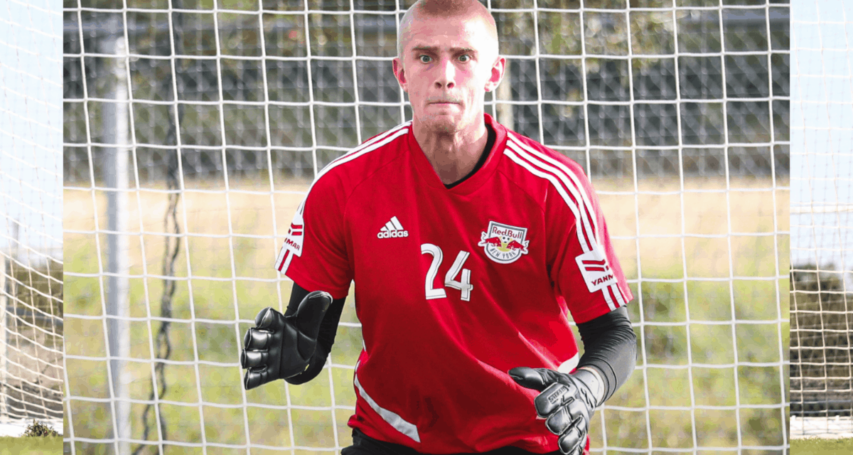 A NEW BACK-STOPPER: Red Bulls II signs GK Lapsley