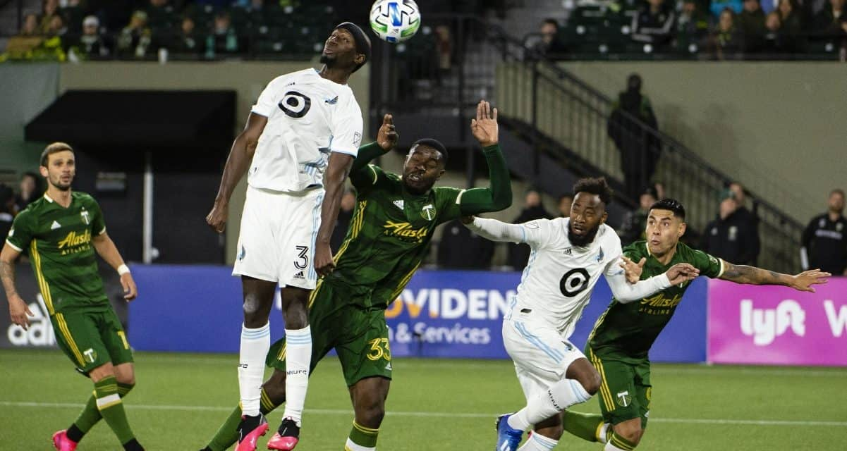 THEY LIKE IKE: Opara voted MLS player of the week
