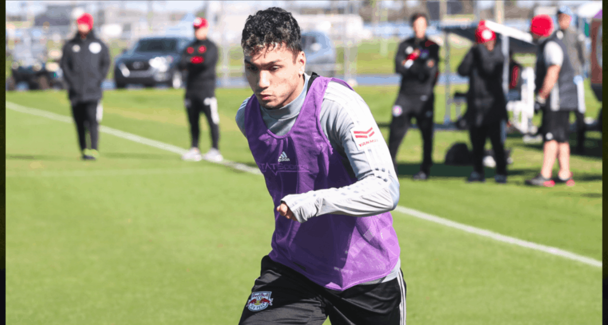 ANOTHER SIGNING: Sharifi joins Red Bulls II
