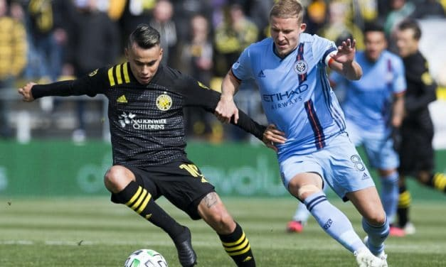 OFF ON THE WRONG FOOT: Red card puts NYCFC into an early hole in 1-0 loss in Columbus