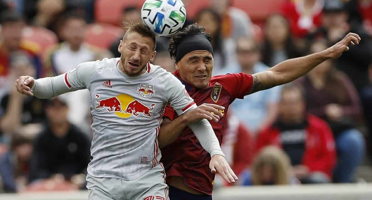 ALMOST: Red Bulls lose lead in stoppage time, settle for draw at RSL