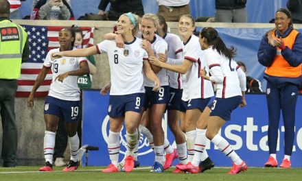 IN THE NICK OF TIME: Ertz's late goal lifts USWNT over Spain