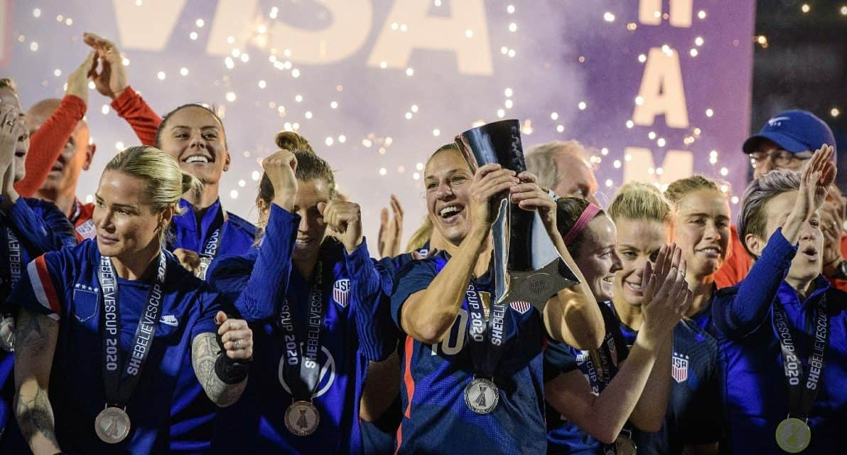 COMMEMORATING WOMEN'S HISTORY MONTH: ESPN2 to televise memorable USWNT matches