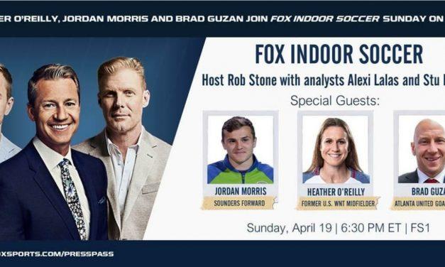 RETURN ENGAGEMENT: FOX indoor soccer is back Sunday