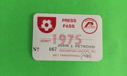 GETTING A PASS (DAY 4): My very first pro soccer press pass