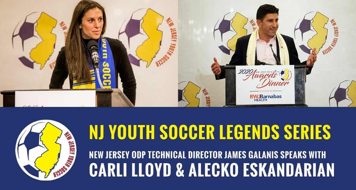 NJYS LEGENDS VIDEO SERIES: Lloyd, Eskandarian help kick off new project