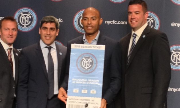 FROM A CLOSER TO A STARTER: Repost: Rivera in an unusual position as NYC FC's first season-ticket holder