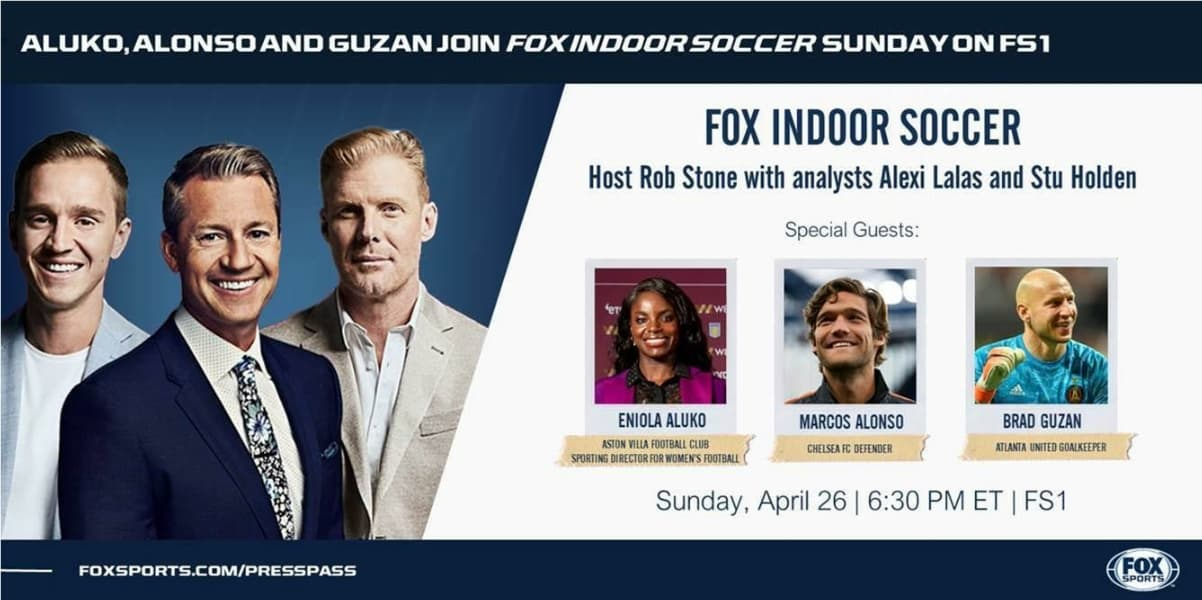 FOX INDOOR SOCCER: Next show set for Sunday