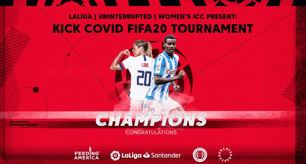 THE LONG ROAD TO VICTORY: LI native and USWNT member, Isak win Kick COVID FIFA20 tournament