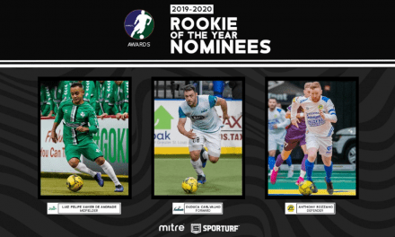 IN THE RUNNING: Lancers' Rozzano a finalist for MASL rookie of the year honors