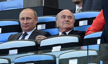 OFFSIDE REMARKS: Sepp Blatter is insane, suggesting the USA could host 2022 World Cup if Qatar is stripped as hosts
