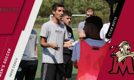 STEPPING UP: Botte named Molloy College men's head coach