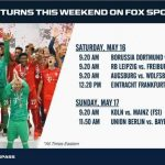 IT'S GIO TIME: FOX to televise Dortmund, Reyna Saturday morning