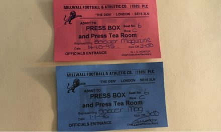 TAKING A PASS (DAY 7): Visiting not one, but two Dens at Millwall