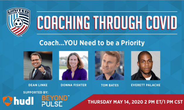 UNITED SOCCER COACHES WEBINAR: Coach … You need to be a priority