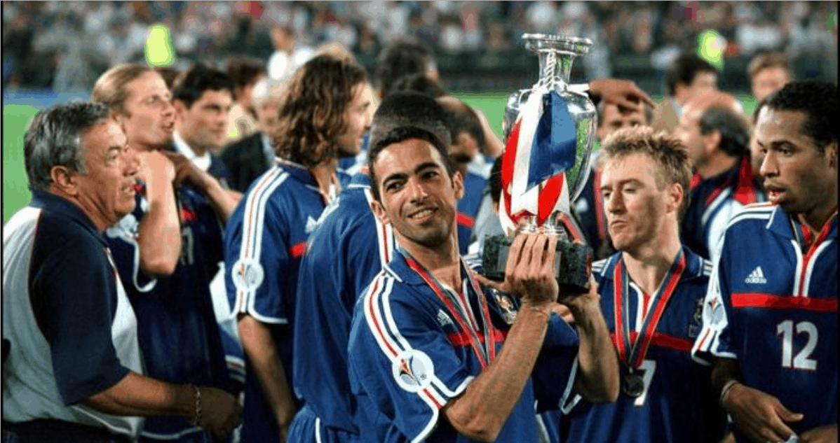 GETTING HIS (CORNER) KICKS: When Youri set up Zidane in WC final
