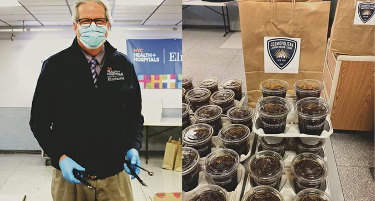 FOR A GOOD CAUSE: CJSL donates $1,000 to NY Loves Coffee, Elmhurst Hospital