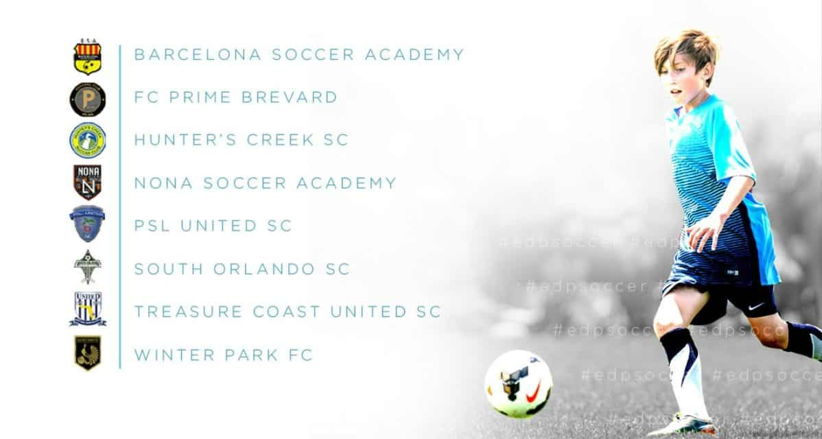 CENTRAL FLORIDA: 8 clubs commit to inaugural season of EDP Soccer's Orlando Metro League