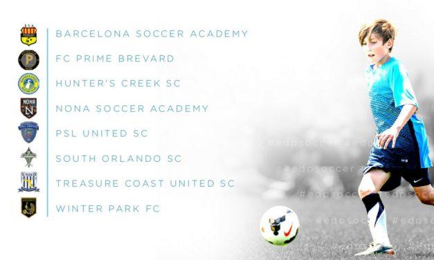 CENTRAL FLORIDA: 8 clubs commit to inaugural season of EDP Soccer's Orlando Metro League