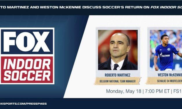 MONDAY NIGHT: Thierry Henry, Weston McKennie on FOX Indoor Soccer