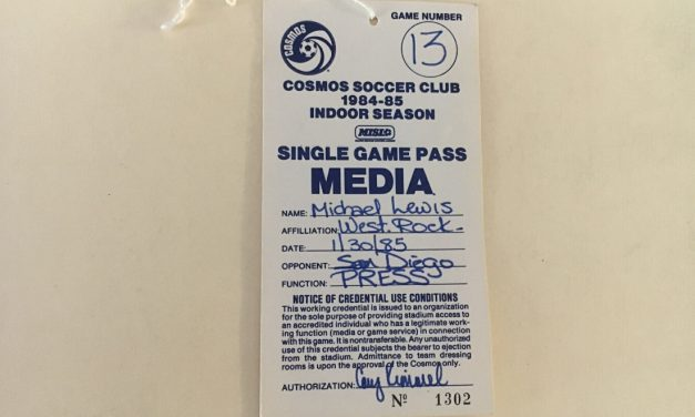 TAKING A PASS (DAY 41): When the Cosmos hit bottom as an indoor team