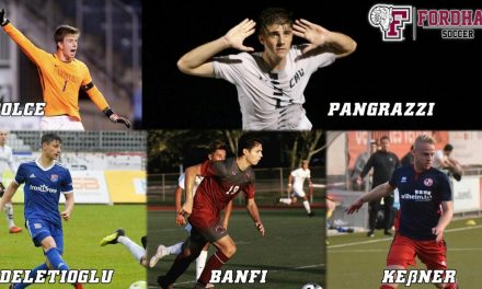 TALENTED QUINTET: Fordham men add 5 more recruits for the fall season