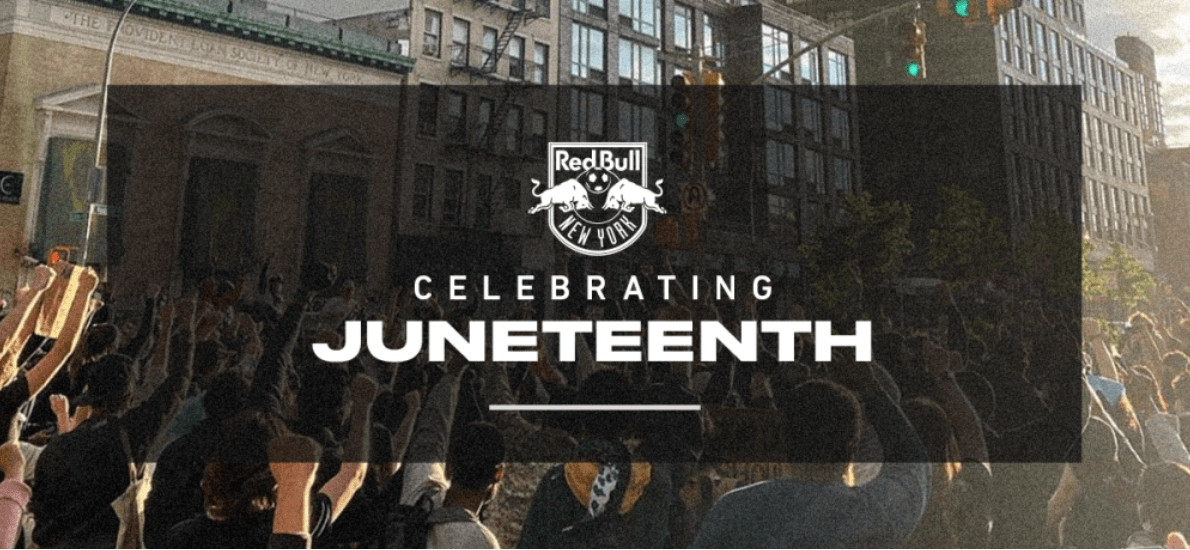 JUNETEENTH: Red Bulls players, staff, employees take Friday off