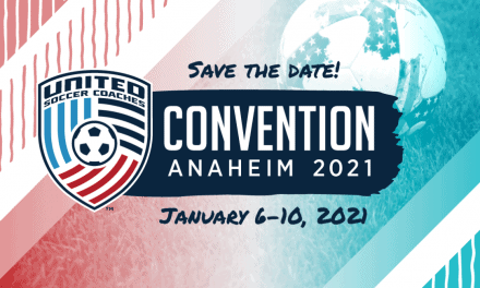 SAVE THE DATE: Video: United Soccer Coaches remind community Anaheim convention set for Jan. 6-10, 2001