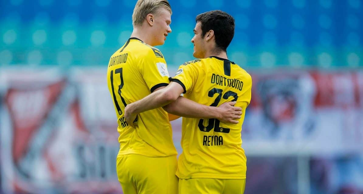 THIS TIME, IT'S A BRACE: Reyna stars for Dortmund in preseason rout