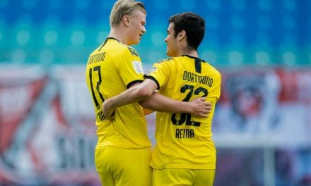 A FLICK IN TIME: Reyna plays role in Dortmund's lone goal in win