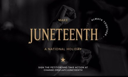 TRYING TO MAKE A CHANGE: LAFC pushes to make Juneteenth a federal holiday
