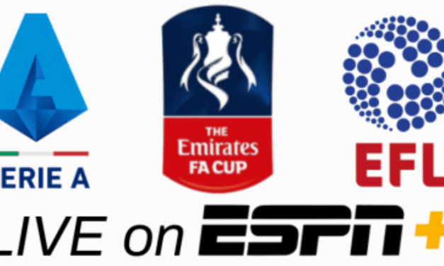 BUSY WEEKEND: ESPN+ to televise 23 matches, including FA Cup quarterfinals, Serie A
