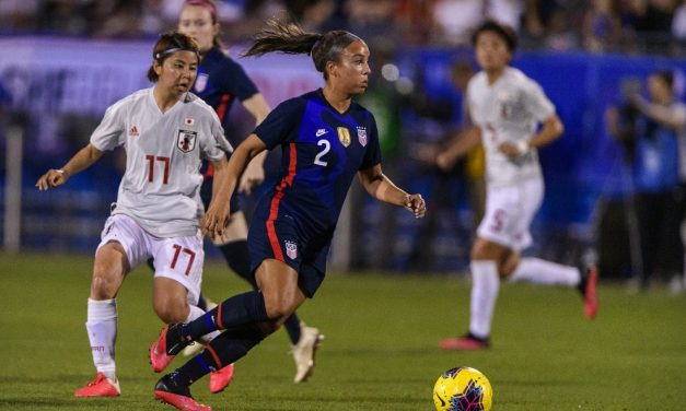 NO PUGH: Hip injury sidelines USWNT player from Challenge Cup