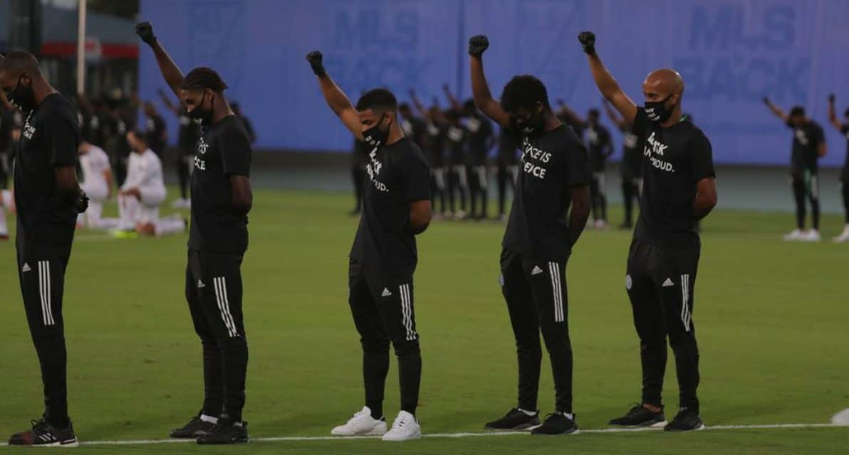AN EMOTIONAL OPENING: Video: MLS Is Black at MLS Is Back Tournament