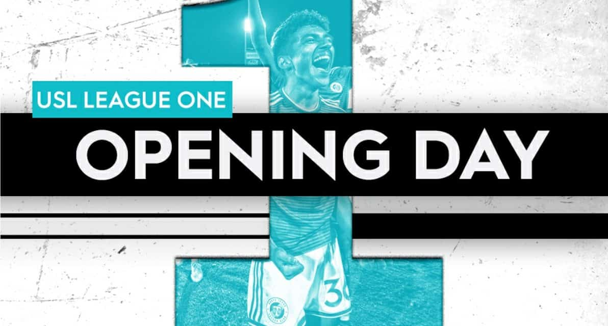 OPENING WEEKEND: USL League One schedule for July 18