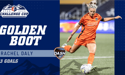 NO DALY DOUBLE: This was a grand slam day for Rachel Daly
