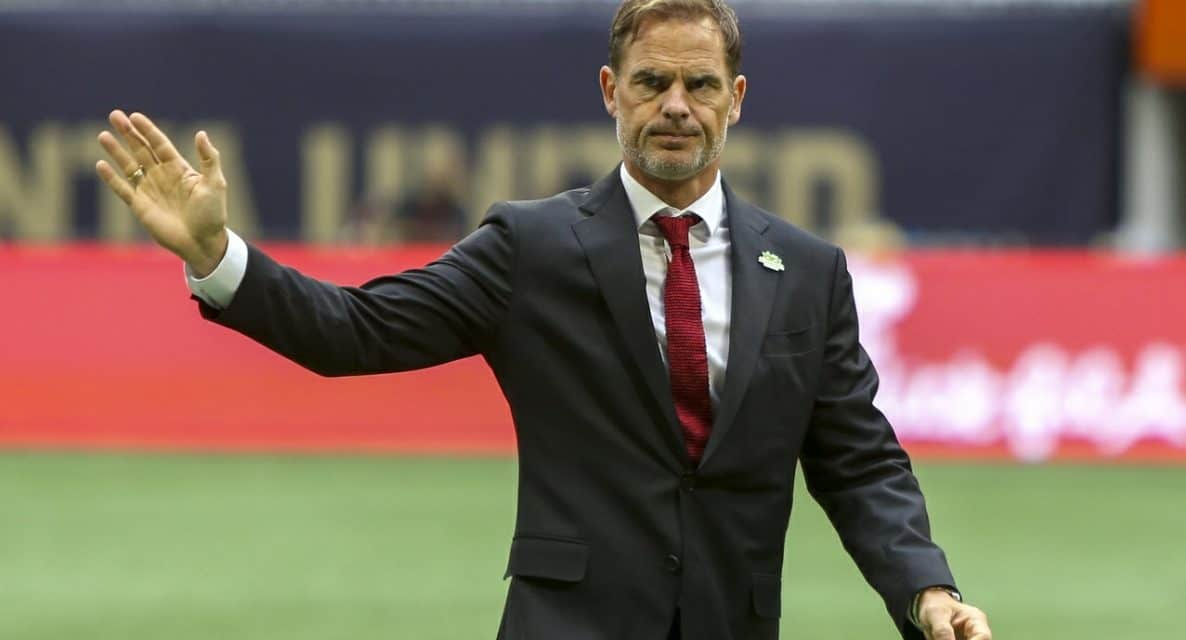 SOME PRAISE: De Boer: Red Bulls tactics difficult to play against