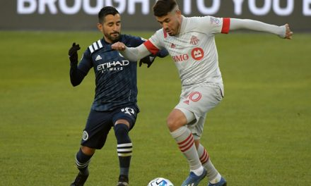 MAXI-MUM IMPACT: Moralez leaves his mark and then some