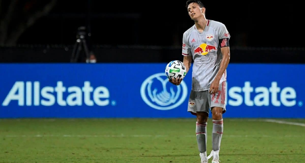 WHERE WAS THE ENERGY?: Disappointed captain Davis wonders where it went and why Red Bulls lost duels
