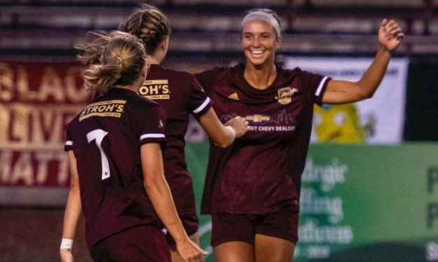 FIRST TIME FOR EVERYTHING: Detroit City FC women win 1st game ever, reach UWS Showcase final