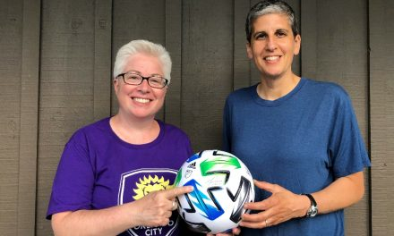 THIS FAN WILL HAVE A BALL: Connecticut woman has her signature on MLS Is Back Tournament ball