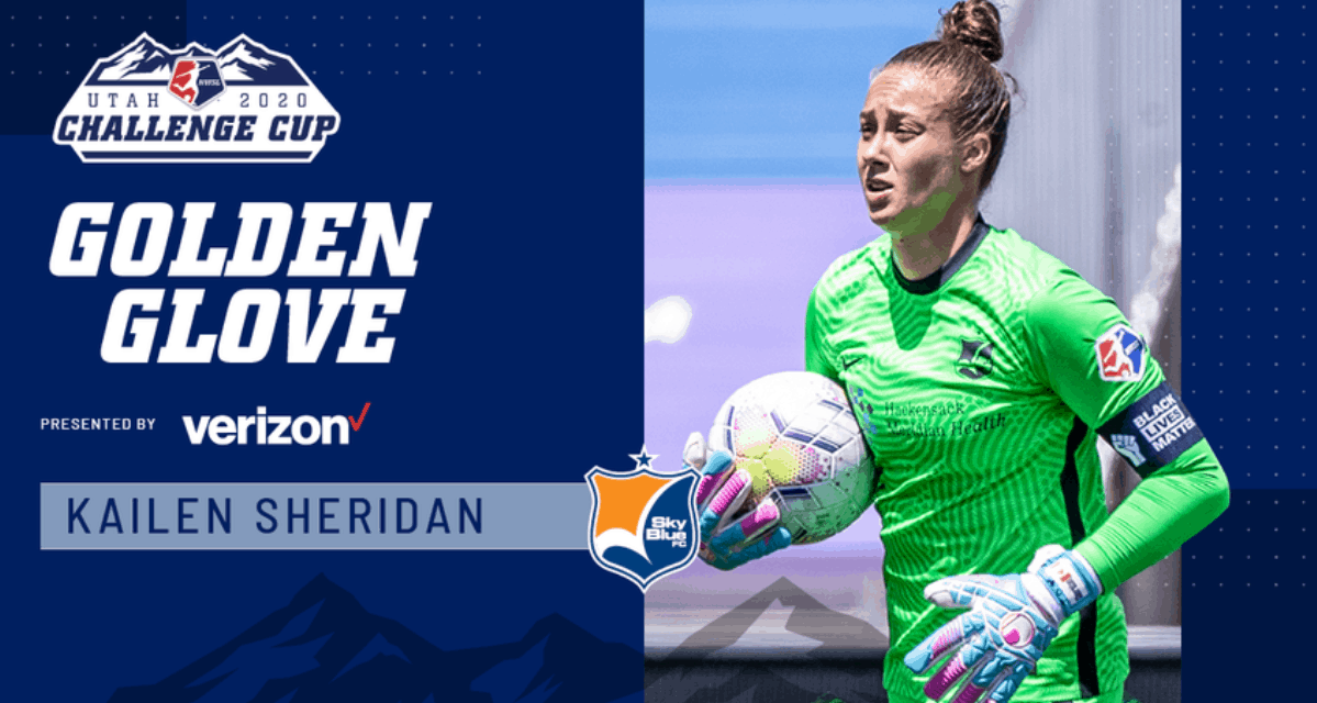 THE WOMAN WITH THE GOLDEN GLOVE: Sheridan named Challenge Cup's top GK