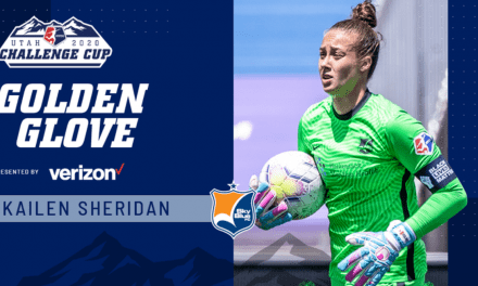 NO SURPRISE: Sheridan named Sky Blue FC MVP