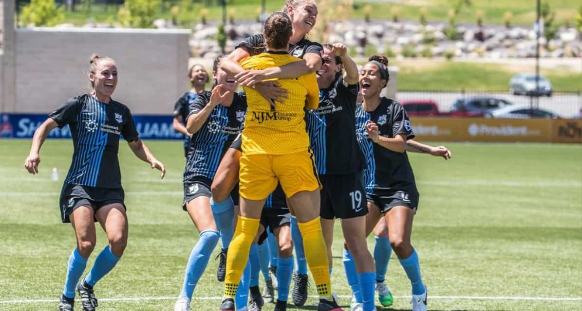 A SAVING GRACE: Sheridan helps to lift Sky Blue into Challenge Cup semifinals in shootout