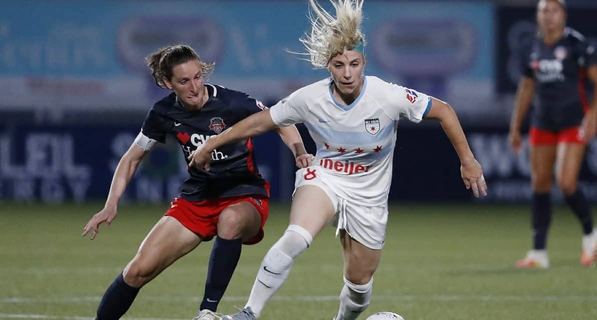 OUT OF THE CUP: USWNT's, Spirit's Sullivan suffers torn meniscus